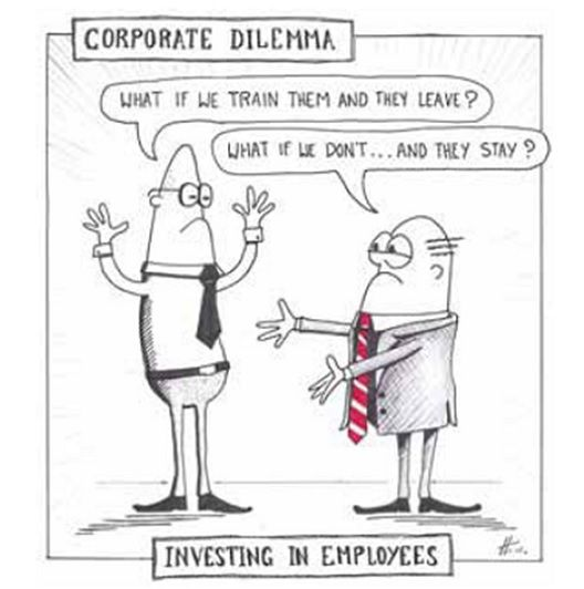 Training Dilemma in Corporate Environments