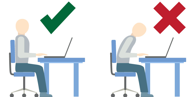 Desk Ergonomics: Perfecting your posture