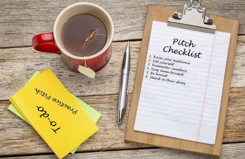 Pitch Checklist