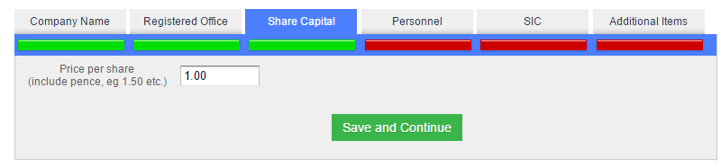 The Statement of Capital